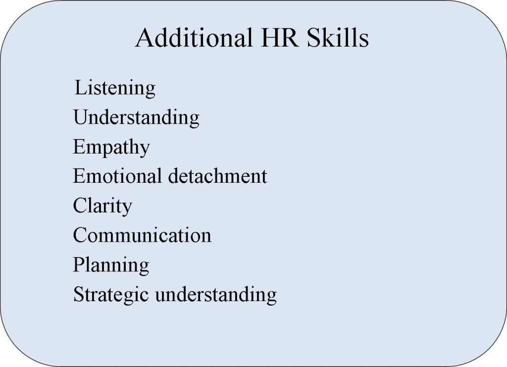 Coaching Additional HR Skills