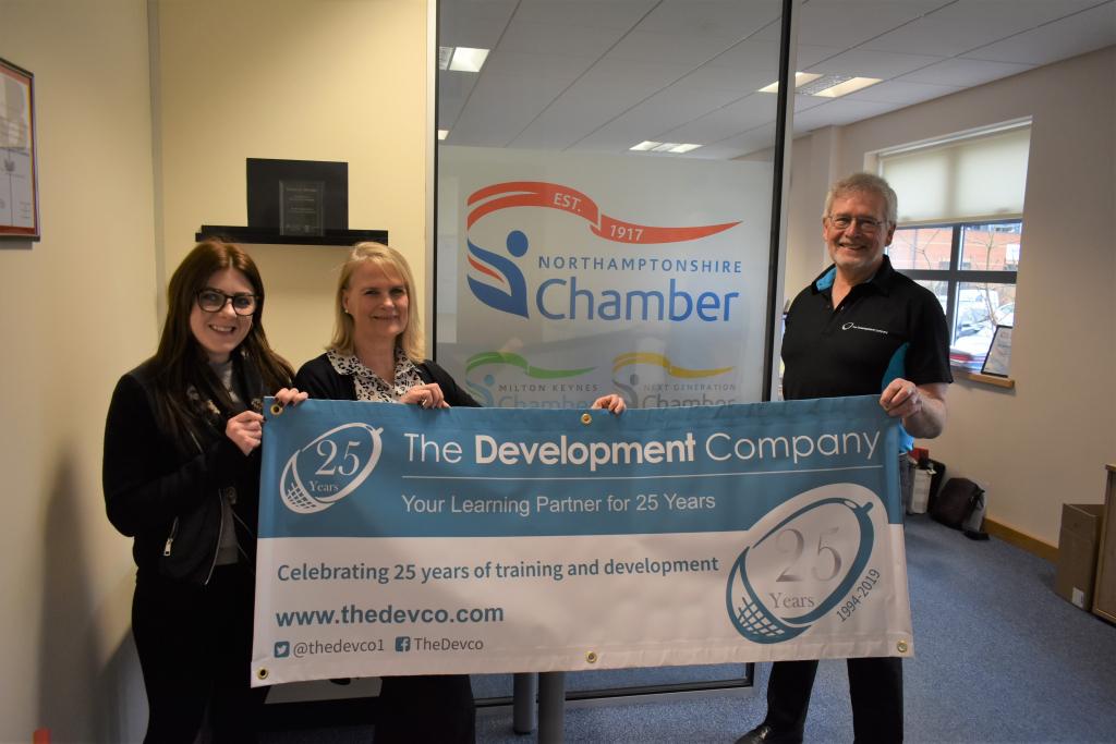 training and development Northamptonshire Chamber