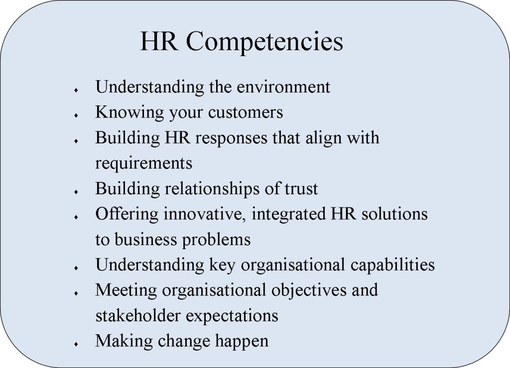 Coaching HR Competencies