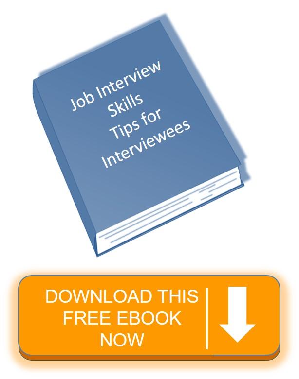 Job Interview Skills ebook image white