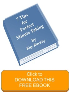 Meeting Minutes ebook click
