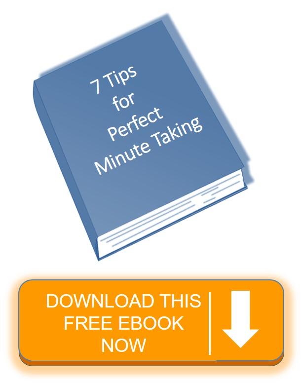 Meeting Minutes ebook click