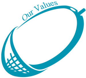 our values