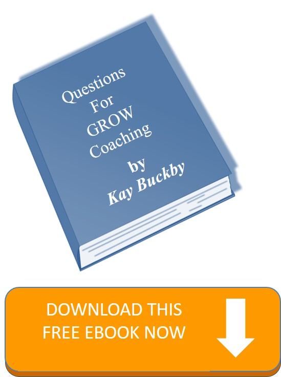 Questions for GROW coaching ebook