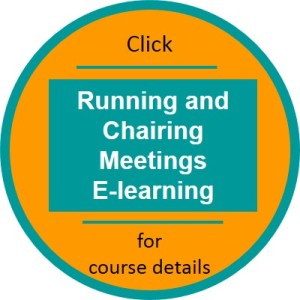 Running and Chairing Meetings elearning click thru