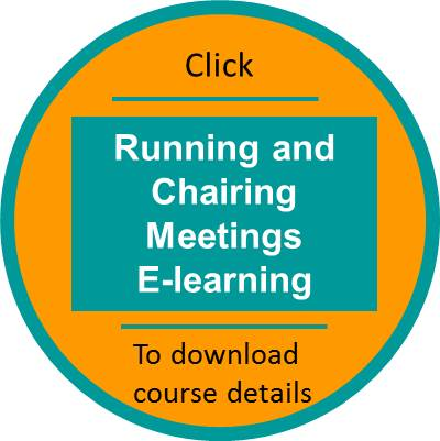 unning and chairing meetings elearning outline