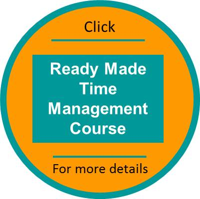 Time Management Ready Made course click