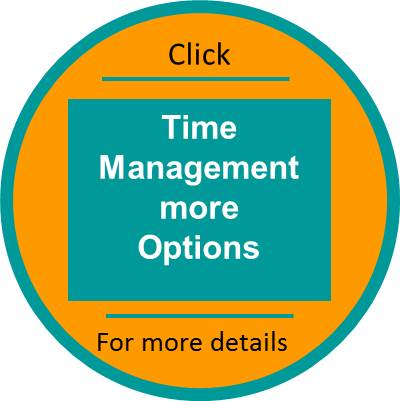 Time Management more options click