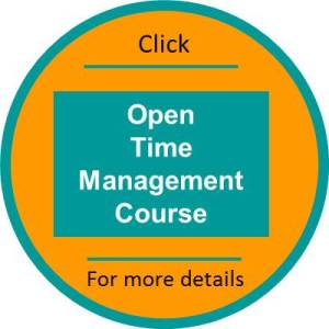 Time Management open course click