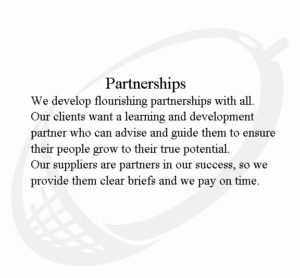 Values partnerships1