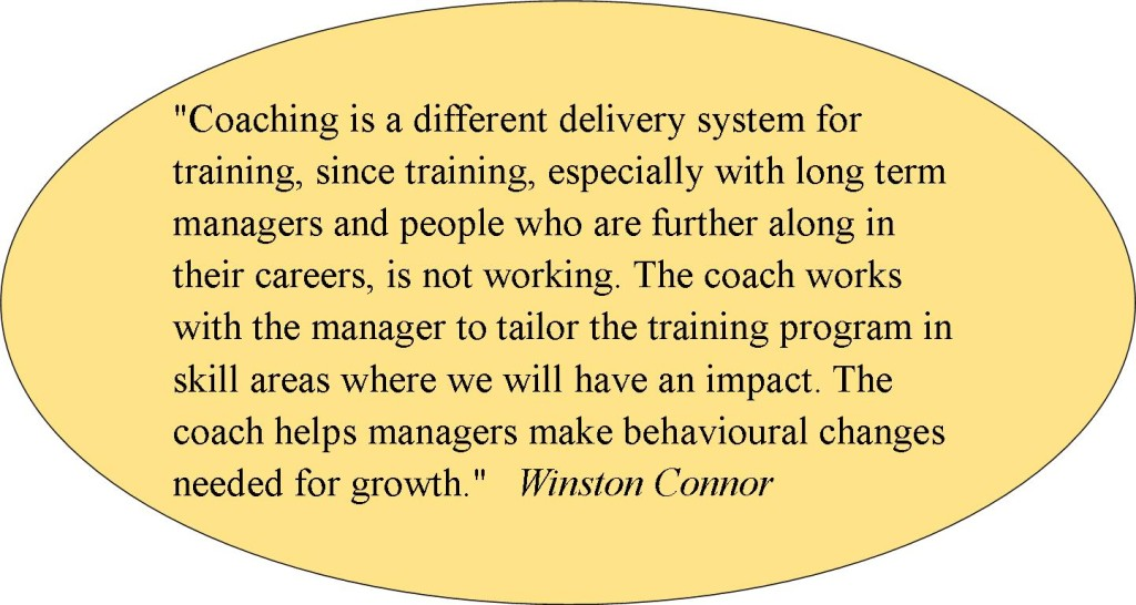 Coaching Winston Connor