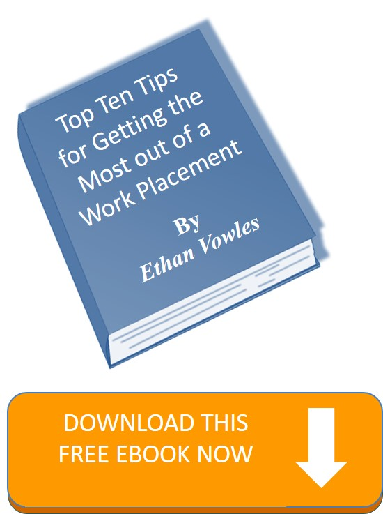 Work Placement ten tips graphic