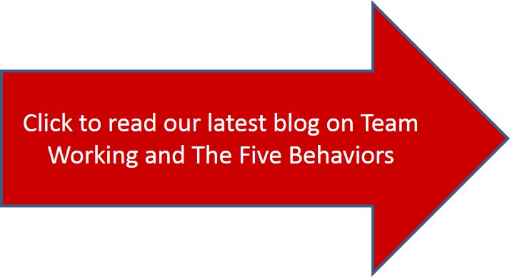 team working blog arrow