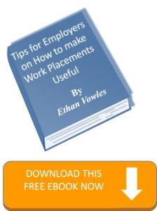 tips for employers on work placements ebook graphic