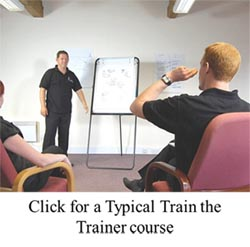 train the trainer typical course