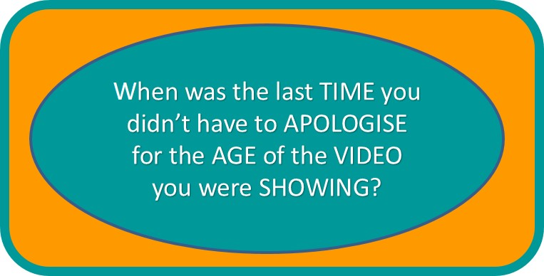 training videos apologise