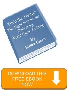 Ebook train the trainer 8 secrets graphic